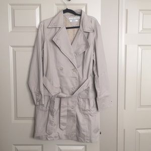 Tommy Hilfiger Double Breast Khaki Trench Coat XL